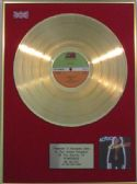 AC/DC - 24 carat  LP Gold  Disc - POWERAGE